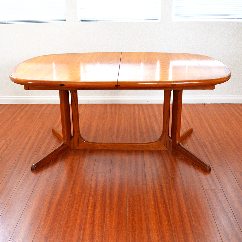 Mid Century Danish Modern Teak Dining Table #2056 by Scan Design las vegas