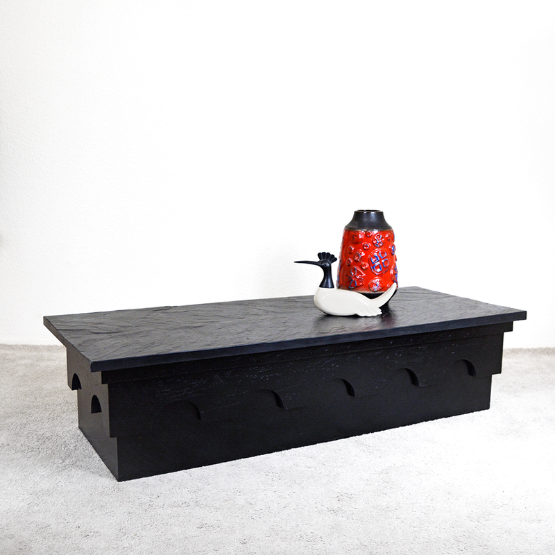 Mid Century Modern Adrian Pearsall for Craft Associates Strictly Spanish Slate Coffee Table las vegas