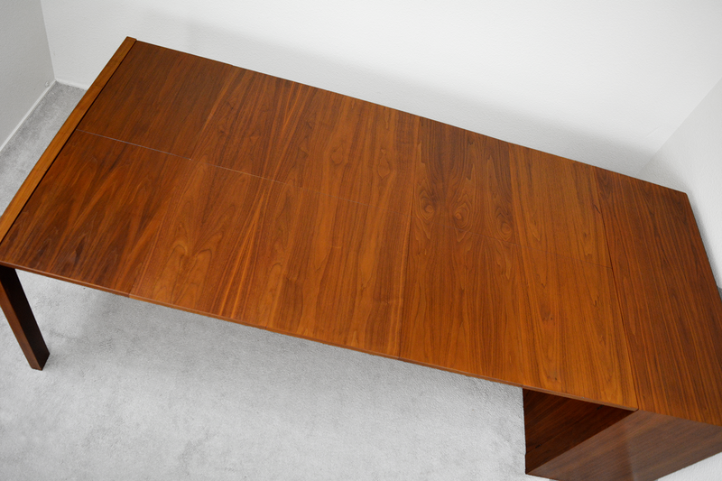 Mid Century Expanding Hide-Away Dining Table by Glenn of California