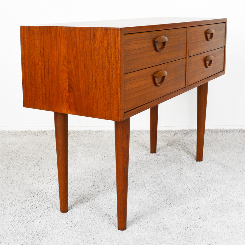 mid century Kai Kristiansen danish Teak ​Entry Table with Four Drawers las vegas